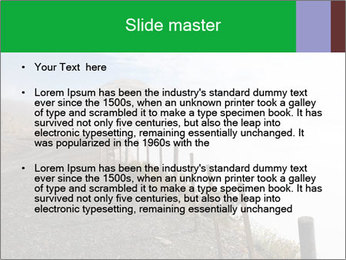 Gravel Road PowerPoint Templates - Slide 2