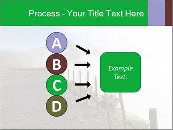 Gravel Road PowerPoint Template - Slide 94