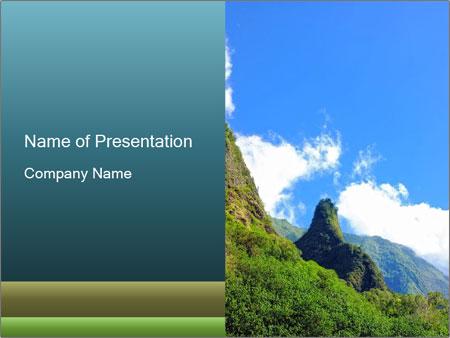 Pure Natural Landscape PowerPoint Templates
