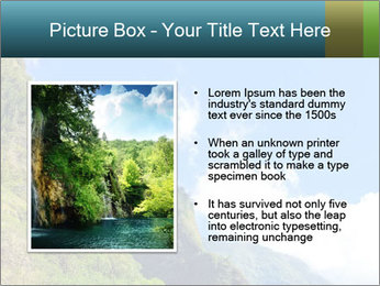 Pure Natural Landscape PowerPoint Template - Slide 13