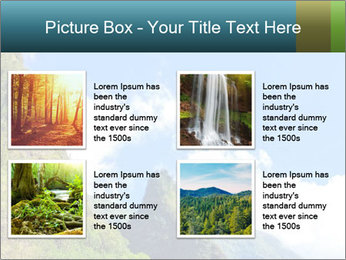 Pure Natural Landscape PowerPoint Template - Slide 14