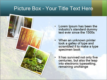 Pure Natural Landscape PowerPoint Template - Slide 17