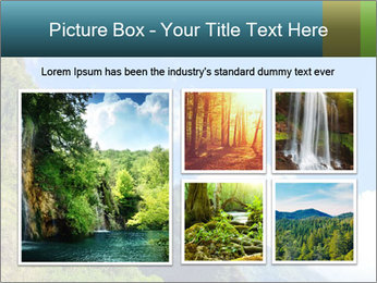 Pure Natural Landscape PowerPoint Template - Slide 19