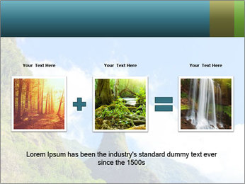 Pure Natural Landscape PowerPoint Template - Slide 22
