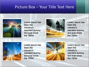 Night Metropolitan PowerPoint Template - Slide 14
