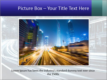 Night Metropolitan PowerPoint Template - Slide 15