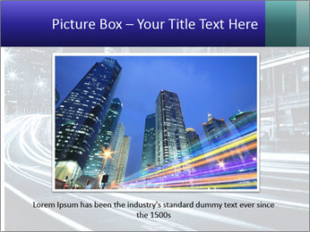 Night Metropolitan PowerPoint Template - Slide 16