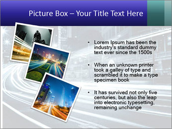 Night Metropolitan PowerPoint Template - Slide 17