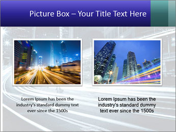 Night Metropolitan PowerPoint Template - Slide 18