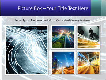 Night Metropolitan PowerPoint Template - Slide 19