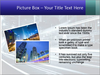 Night Metropolitan PowerPoint Template - Slide 20