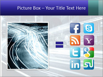 Night Metropolitan PowerPoint Template - Slide 21