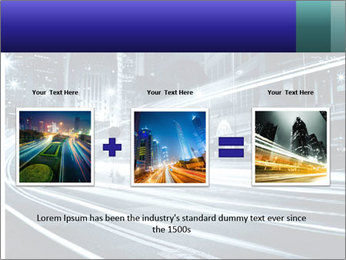 Night Metropolitan PowerPoint Template - Slide 22
