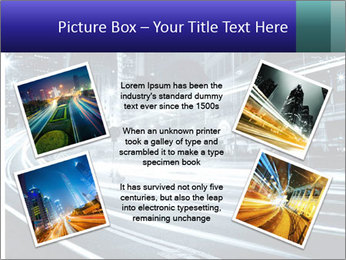 Night Metropolitan PowerPoint Template - Slide 24