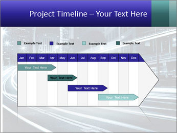 Night Metropolitan PowerPoint Template - Slide 25