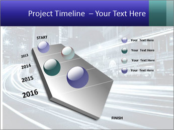 Night Metropolitan PowerPoint Template - Slide 26