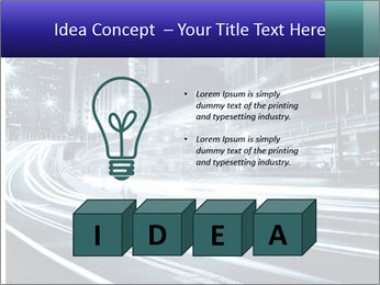 Night Metropolitan PowerPoint Template - Slide 80