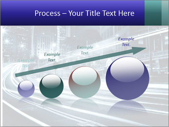 Night Metropolitan PowerPoint Template - Slide 87