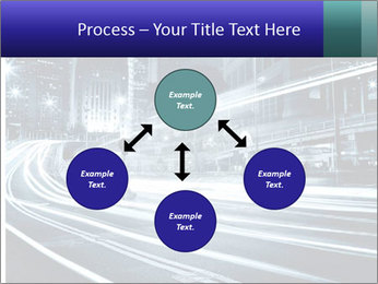 Night Metropolitan PowerPoint Template - Slide 91