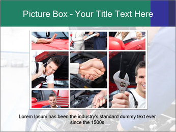 Men Fixing Vehicle PowerPoint Templates - Slide 15