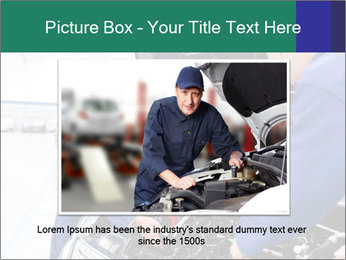 Men Fixing Vehicle PowerPoint Templates - Slide 16