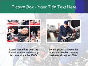 Men Fixing Vehicle PowerPoint Templates - Slide 18