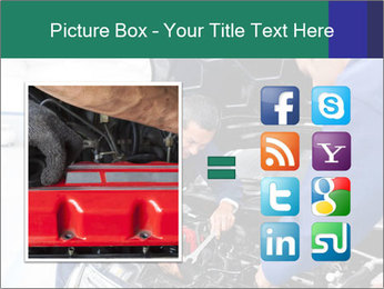 Men Fixing Vehicle PowerPoint Templates - Slide 21
