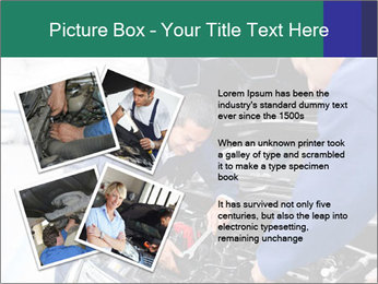 Men Fixing Vehicle PowerPoint Templates - Slide 23