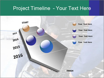 Men Fixing Vehicle PowerPoint Templates - Slide 26
