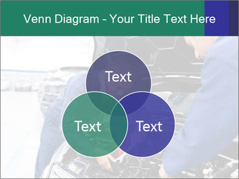 Men Fixing Vehicle PowerPoint Templates - Slide 33