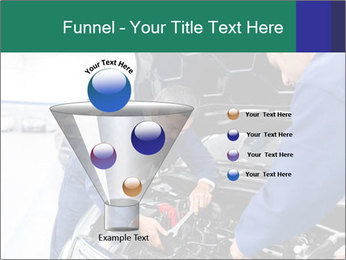 Men Fixing Vehicle PowerPoint Templates - Slide 63