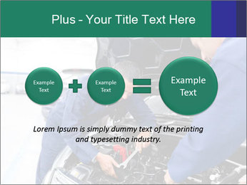 Men Fixing Vehicle PowerPoint Templates - Slide 75
