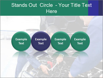 Men Fixing Vehicle PowerPoint Templates - Slide 76