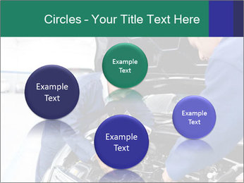 Men Fixing Vehicle PowerPoint Templates - Slide 77