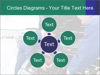 Men Fixing Vehicle PowerPoint Templates - Slide 78