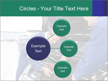 Men Fixing Vehicle PowerPoint Templates - Slide 79