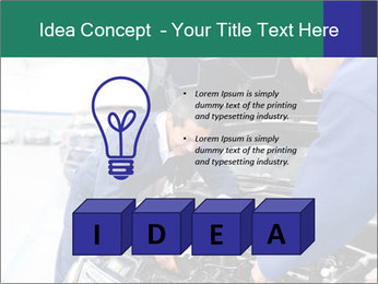 Men Fixing Vehicle PowerPoint Templates - Slide 80