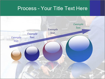 Men Fixing Vehicle PowerPoint Templates - Slide 87