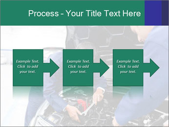 Men Fixing Vehicle PowerPoint Templates - Slide 88