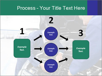 Men Fixing Vehicle PowerPoint Templates - Slide 92