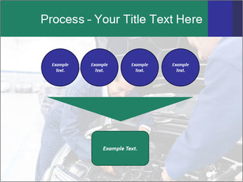 Men Fixing Vehicle PowerPoint Templates - Slide 93