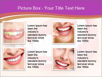 Teeth After Whitening PowerPoint Template - Slide 14