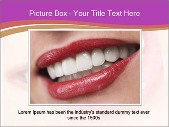 Teeth After Whitening PowerPoint Template - Slide 15
