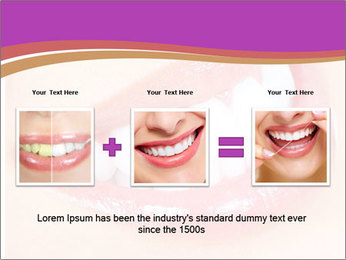 Teeth After Whitening PowerPoint Template - Slide 22