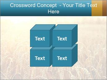 Golden Field PowerPoint Template - Slide 39