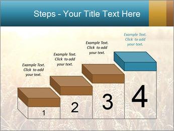 Golden Field PowerPoint Template - Slide 64