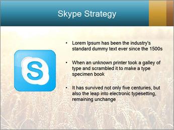 Golden Field PowerPoint Template - Slide 8