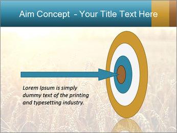 Golden Field PowerPoint Template - Slide 83