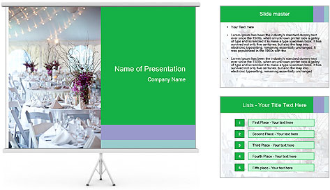 Bridal Catering PowerPoint Template
