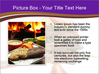 Gourmet Meat PowerPoint Template - Slide 13